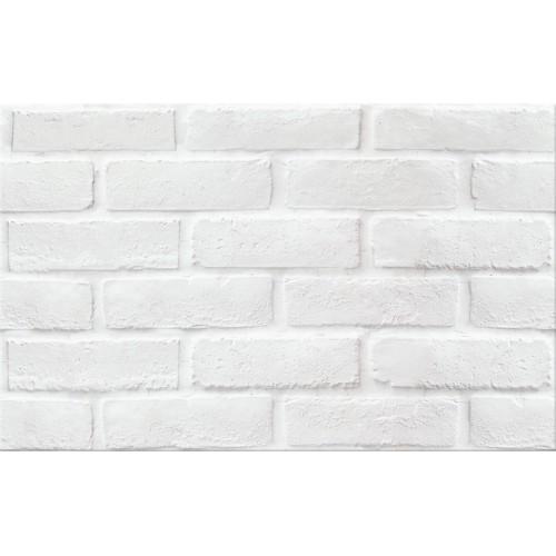 Cersanit Wika White Structure Mat PS213 25x40 csempe