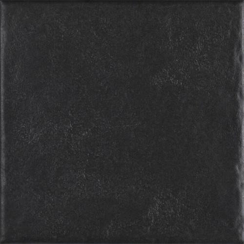 Paradyz Ceramika Modern Nero 19,8x19,8 padlólap