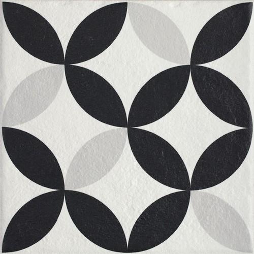 Paradyz Ceramika Modern Motyw E 19,8x19,8 padlólap