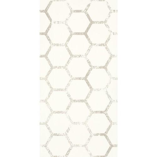 Paradyz Ceramika Grace Bianco Inserto B 29,5x59,5 dekor