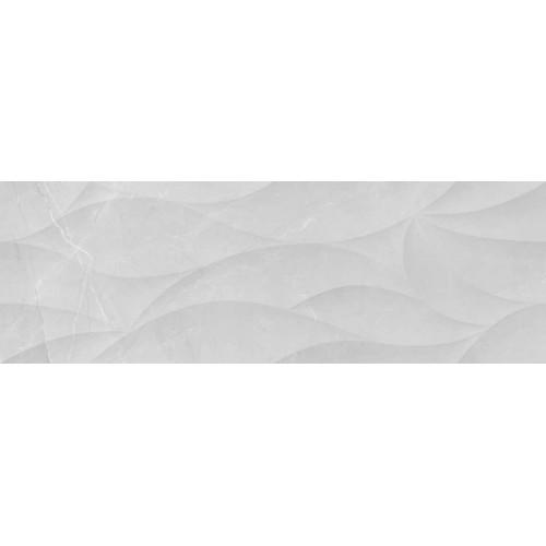 Keramika Kanjiza Elegant Petal 3D Light Grey 20x60 csempe
