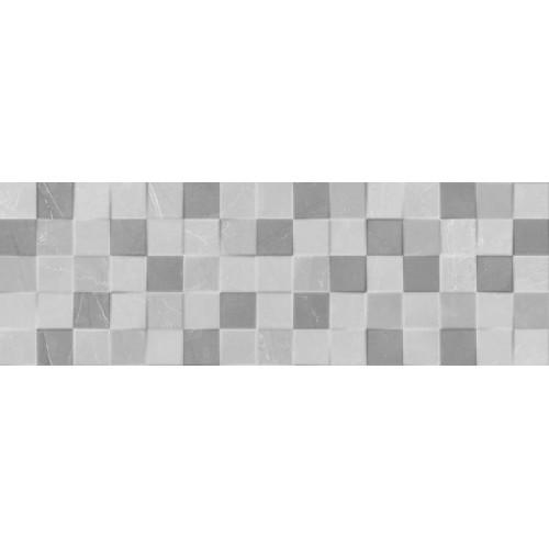 Keramika Kanjiza Elegant Mosaic 3D Grey 20x60 csempe