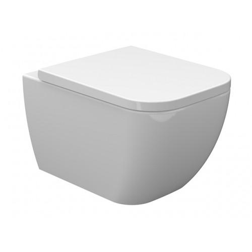 Arezzo Ohio Rimless (perem nélküli) fali WC, mély öblités