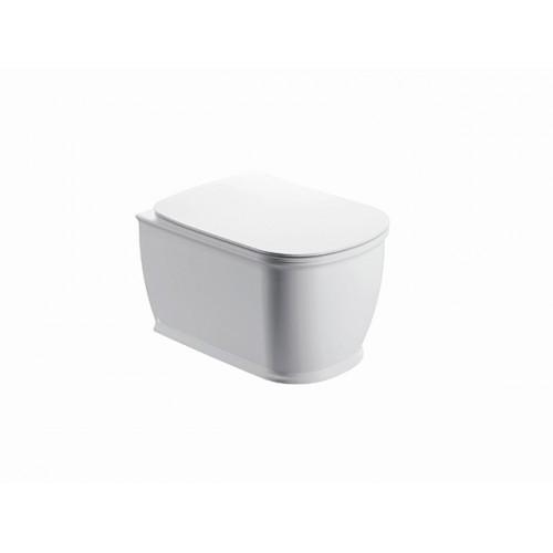 Arezzo Charlton Rimless (perem nélküli) fali WC, mély öblités