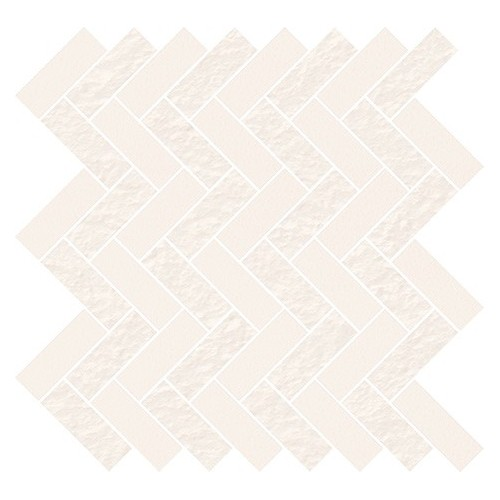 Cersanit Winter Fall White Micro Mosaic Parquet Mix 33,1x33,1 mozaik