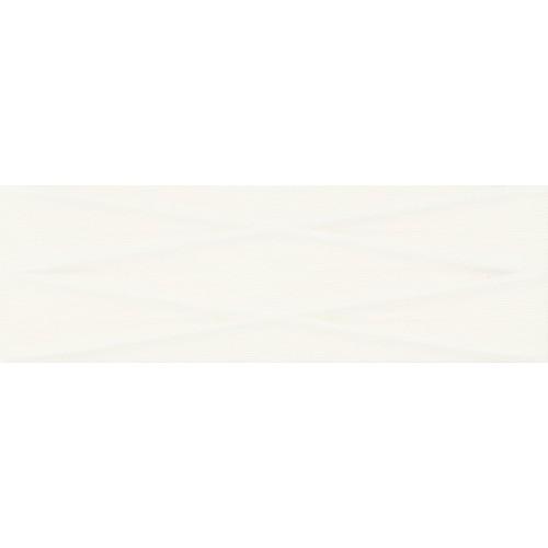 Cersanit Gravity White Lines STR Satin 24x74 csempe