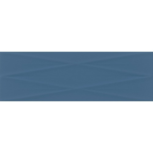 Cersanit Gravity Marine Blue Lines STR Satin 24x74 csempe