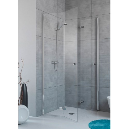 Radaway Fuenta New KDD-B szögletes aszimmetrikus zuhanykabin