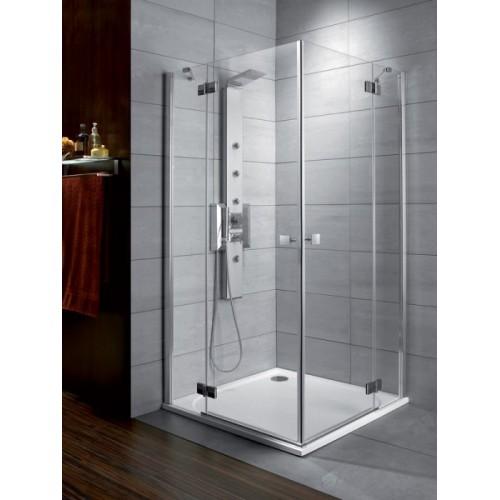 Radaway Almatea KDD szögletes aszimmetrikus zuhanykabin