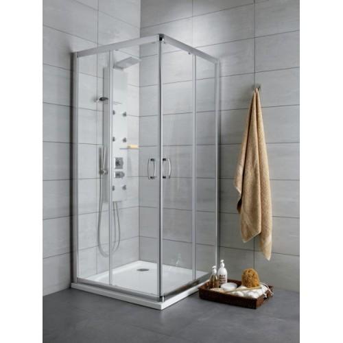 Radaway Prémium Plus D szögletes aszimmetrikus zuhanykabin