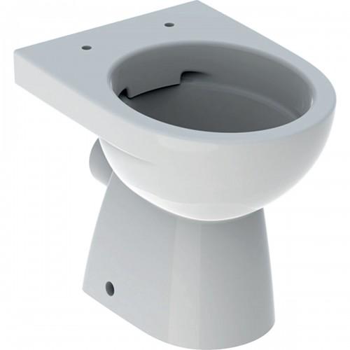 Geberit Selnova 500480011 Rimfree, perem nélküli mélyöblítésű, hátsó kifolyású álló WC