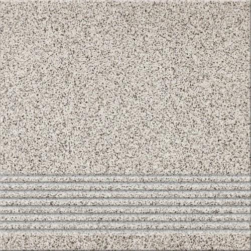 Opoczno Milton Grey Steptread 29,7x29,7 lépcsőlap