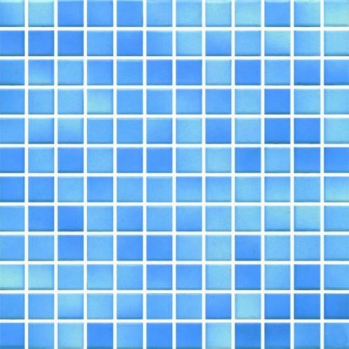 Opoczno Palette Blue Mix Mat Mosaic 30x30 mozaik