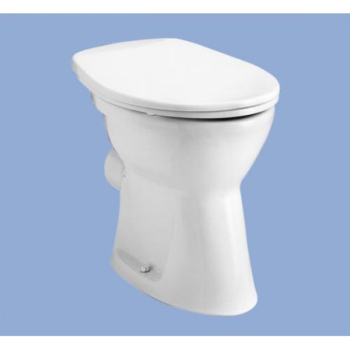 Alföldi Bázis álló WC lapos öblítés, hátsó kifolyás
