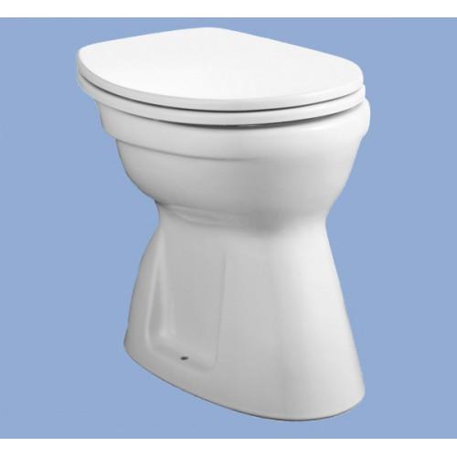 Alföldi Bázis álló WC lapos öblítés, alsó kifolyás