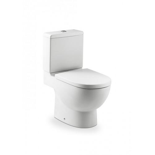 Roca Meridian monoblokk WC mély öblítés alsó/hátsó kifolyás hosszúság: 645 mm