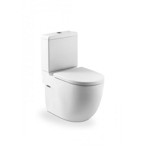Roca Meridian monoblokk WC mély öblítés alsó/hátsó kifolyás hosszúság: 600 mm