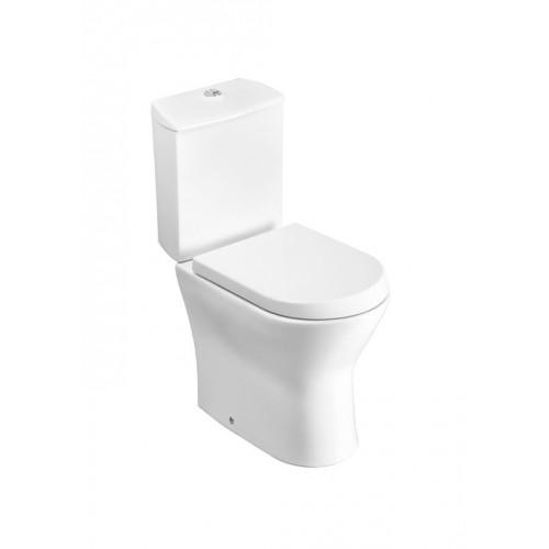 Roca Nexo monoblokk WC mély öblítés alsó/hátsó kifolyás hosszúság: 665 mm