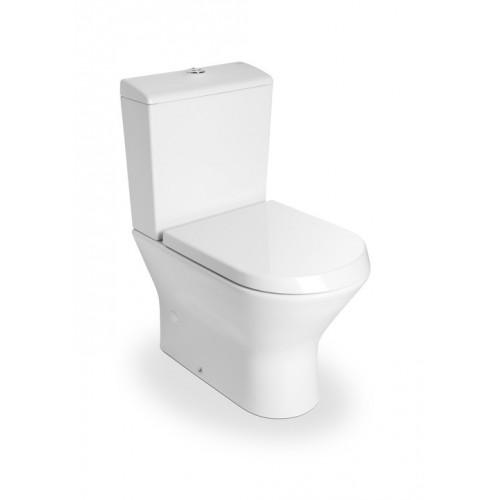 Roca Nexo monoblokk WC mély öblítés alsó/hátsó kifolyás hosszúság: 615 mm