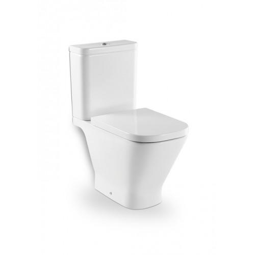 Roca The Gap monoblokk WC mély öblítés, hátsó kifolyás hosszúság: 650 mm