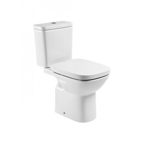 Roca Debba monoblokk WC mély öblítés, hátsó kifolyás hosszúság: 665 mm