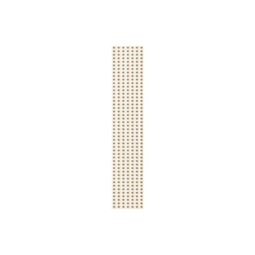 Kwadro Doppia Beige 4,8x25 listwa dekor csík