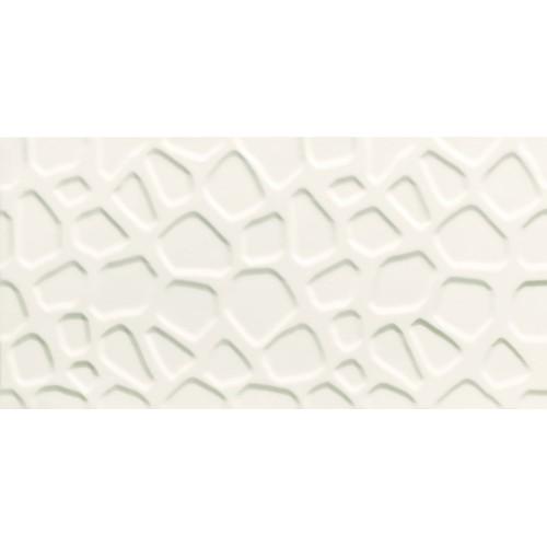 Tubadzyn All In White – White 2 STR. 29,8x59,8 fali csempe