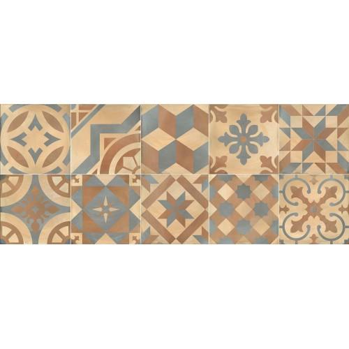 Cifre Ceramica Decor Montblanc Beige 20x50 fali csempe