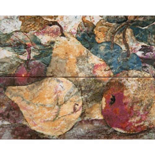 Cifre Ceramica Composicion Pears Hot 40x50 dekor csempe szett (2 db)