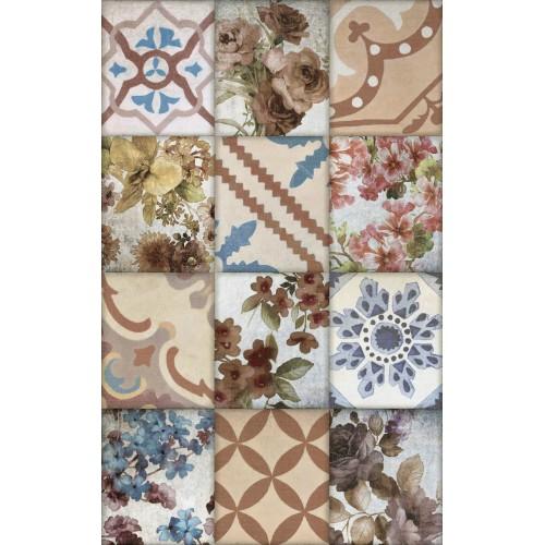 Cifre Ceramica Composicion Besoli 80x50 dekor csempe szett (4 db)
