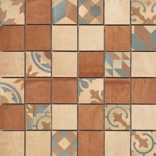 Cifre Ceramica Mosaico Montblanc Brown 30x30 mozaik