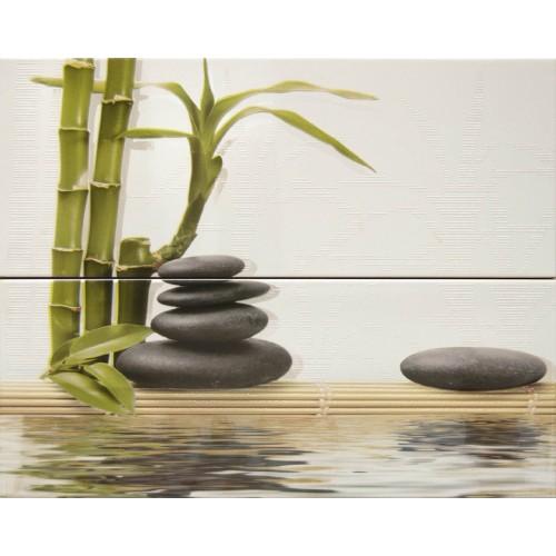 Cifre Ceramica Composicion Sibila 40x50 dekor csempe szett (2 db)