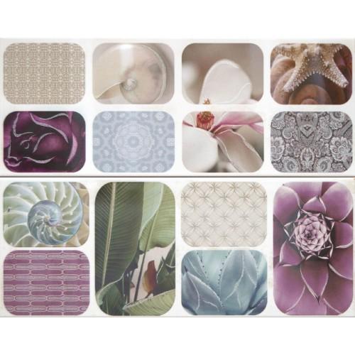 Cifre Ceramica Composicion Dalis 40x50 dekor csempe szett (2 db)