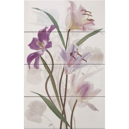 Cifre Ceramica Composicion Fancy 80x50 dekor csempe szett (4 db)