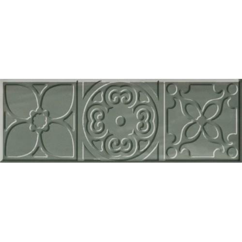 Cifre Ceramica Decor Altair Jade 10x30 dekor csempe