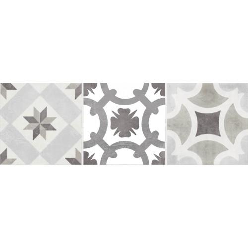 Cifre Ceramica Decor Bulevar Cold 10x30 dekor csempe