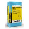 Weber.col gres (C1TE) csempe- és burkolólap ragasztó 25 kg