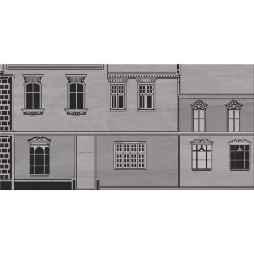 Cersanit City Grey Inserto House B 29,7x60 dekor